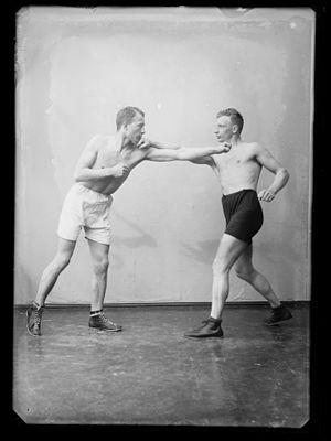 Georg Brustad - Georg Brustad on the right