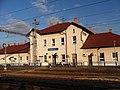 Hrušovany u Brna, železniční stanice.jpg