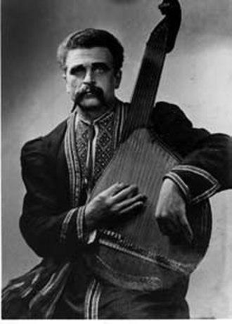 Bandura - Kharkiv style bandurist Hryhory Bazhul