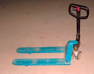 Material-handling equipment - Pallet jack