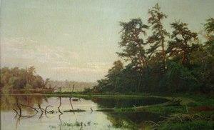 Hugh Bolton Jones - Image: Hugh Bolton Jones 1873 Morning on the Severn River, Maryland