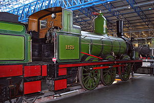 Long Boiler locomotive - NER 1001 Class N°1275, now in the National Railway Museum, York