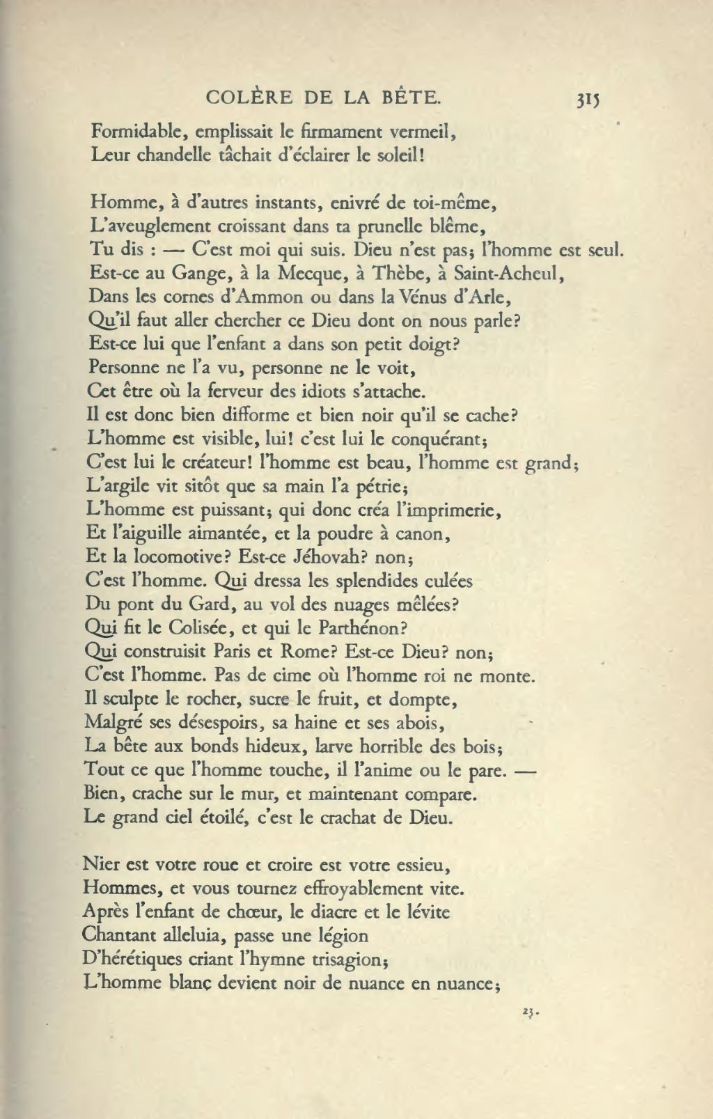 Pagehugo œuvres Complètes Impr Nat Poésie Tome Ix