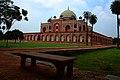 Humayun Tomb Bench.jpg