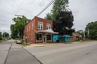 Huntertown, Indiana - Photo from Small Town Indiana photo survey.