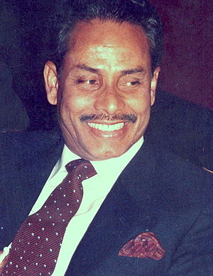 Hussain Muhammad Ershad - Ershad in 1986 at Bangabhaban