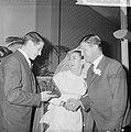Huwelijk Peter Post met Loek Kalis , receptie in Treslong, Gerrit Schulte kwam h, Bestanddeelnr 917-3925.jpg