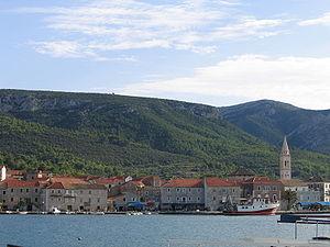 Jelsa, Croatia - Jelsa harbour