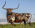 "Hybrid Metal Art Sculpture ""Longhorn"".jpg"