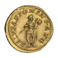 INC-2961-r Ауреус. Элагабал. Ок. 218—219 гг. (реверс).png