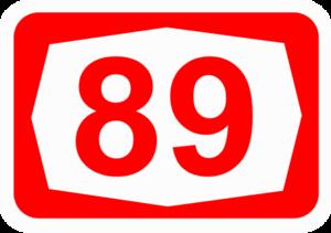 Highway 89 (Israel) - Image: ISR HW89