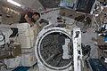 ISS-32 Akihiko Hoshide near the airlock in the Kibo lab.jpg