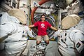 ISS-53 Joseph Acaba poses inside the Quest airlock.jpg
