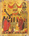 Icon of Annunciation (Spaso-Preobrazhensky Monastery, Yaroslavl, 1564).jpg