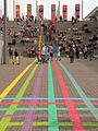 Ideenexpo 2013 bunte Streifen.jpg