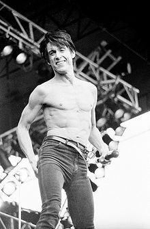 Iggy Pop performing at Pinkpop (1987)