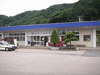 Kintaichi-Onsen Station - Kintaichi-Onsen Station in July 2007