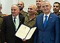 Ilir Meta visit to Homefront Command of Israel. I (cropped).jpg