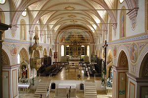Ilmmuenster Kirche Innen vom Chor