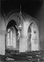 In Bucknell church