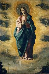 la Corse et la Nativité de la Vierge. dans Corse 161px-Inmaculada_%28Zurbar%C3%A1n%29