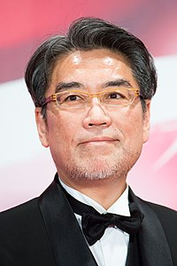 "Inoue Shinichiro from ""The World of Keiichi Hara"" at Opening Ceremony of the Tokyo International Film Festival 2017 (39492082644).jpg"