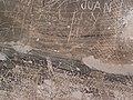 Inscripción de prisionero del castillo.JPG