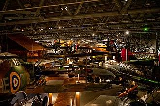 Norwegian Aviation Museum - Inside the military part of the Norwegian Aviation Museum