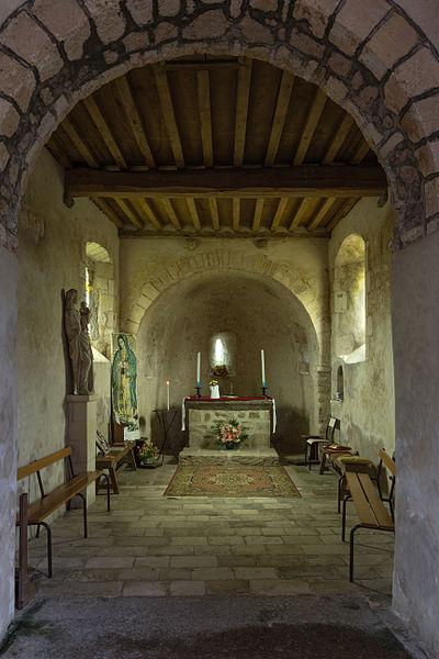 Français:  Intérieur de la chapelle Notre-Dame-de-bon-secours de Gatteville-le-Phare (France).