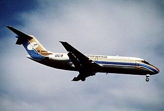 Intercontinental de Aviación Flight 256 - Image: Intercontinental Colombia DC 9 15; HK 3486X, December 1993 CVP (5127216922)