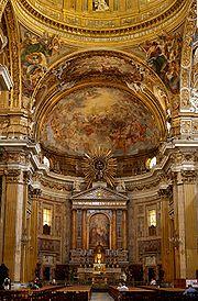 Interior Gesu Rome