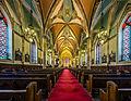 Interior from entrance, Assumption Church, Windsor, 2015-01-17.jpg