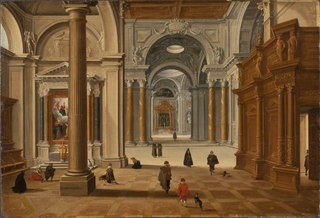 Interior of a Baroque Church