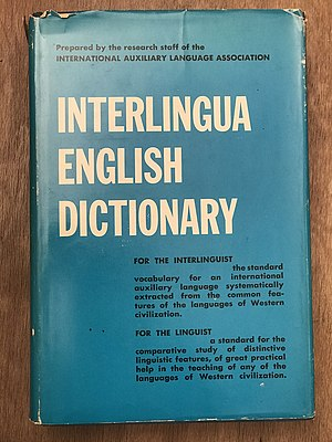 Interlingua-English-Dictionary secunde edition.jpg