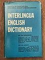 Interlingua-English-Dictionary secunde edition.jpg