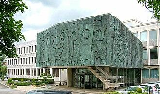 History of Ilkley - International Wool Secretariat building in Ben Rhydding, Ilkley