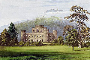 Inveraray Castle - Image: Inverary Castle Morris edited