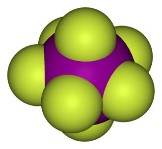 Interhalogen - Iodine heptafluoride