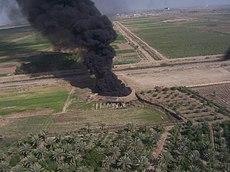 Iraq Oil Well Fire
