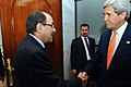 Iraqi Prime Minister al-Maliki Greets Secretary Kerry Upon Arrival for Meeting in Baghdad (14485828621).jpg