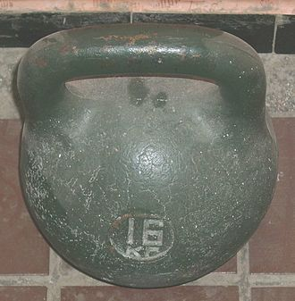 Pood - A one pood kettlebell