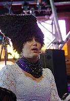 Iryna Kovalenko (DakhaBrakha) (Haldern Pop 2013) IMGP6608 smial wp.jpg