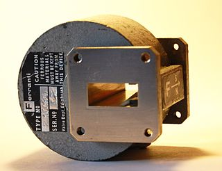 Isolator (microwave) two-port device that transmits microwave or radio frequency power in one direction only