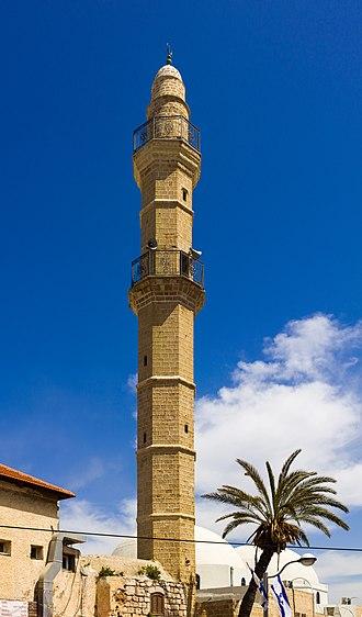 Mahmoudiya Mosque - The minaret