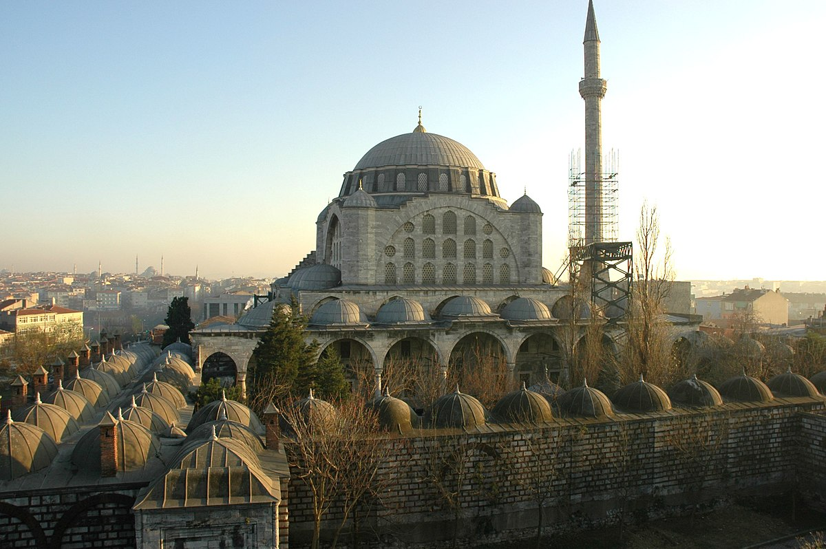 Mosques Wikipedia: Mihrimah Sultan Mosque (Edirnekapı)