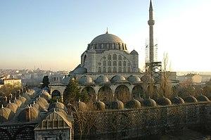 Mihrimah Sultan - Mihrimah Sultan Mosque in Edirnekapı, İstanbul, Turkey.