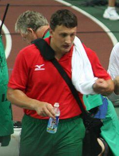 Ivan Tsikhan Belarusian hammer thrower