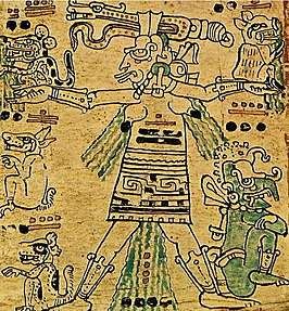 Ixchel in de Dresdencodex