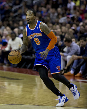 J. R. Smith - Smith with the Knicks in November 2013
