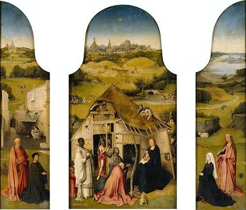 Adoración de los Magos (El Bosco) - Wikipedia, la enciclopedia libre